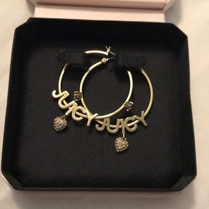 Juicy Couture Gold Hoops